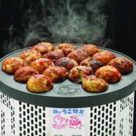 ■送料無料■電気式 半自動踊るたこ焼き器(18個取り)卓上式タコ焼き器 1時間で約90~108個のタコヤキが作れる!たこ焼きパーティ ベビーカステラ お家でパーティ