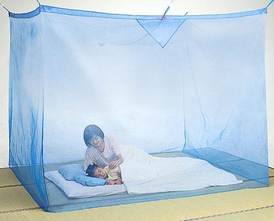 綿麻蚊帳 3畳用