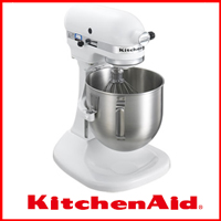 キッチンエイド   [KitchenAid KSM5] 業務用としても家庭用としても♪パン、ケーキの生地作りなど多くの作業を一台でこなします。【smtb-td】
