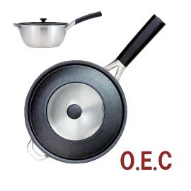 【O.E.C.】 片手鍋18cm(ふた付) 料理研究家・脇雅世の人にやさしい、地球や自然を思いやった調理器具【O.E.C.】【smtb-td】, BIGBOSS:cf5421da --- sunward.msk.ru