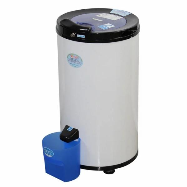 小さいのに脱水容量約6kg!コンパクトミニ脱水機ASD-5.0 脱水専用! APD-6.0 ■大型商品■アルミス Dryer ALUMIS Powerful Spin 後継機/介護・育児 パワフルスピンドライ