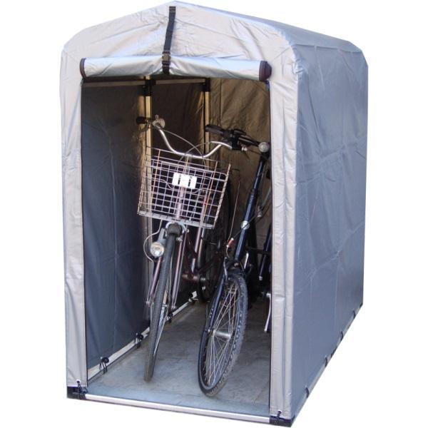 【メーカー直送の為代引き不可】アルミス アルミサイクルハウス 2S-SVU スリムサイズ SVUシート耐久3~4年 W94×D179×H156cm 自転車・バイク・タイヤ等収納に最適!2S型