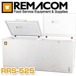 【メーカー直送の為代引き不可】■送料無料■レマコム 冷凍ストッカー RRS-525 急速冷凍機能付き大容量525リットルタイプ 開閉もラクラク2枚扉 RRS-525CNF