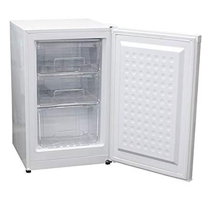 【メーカー直送の為代引き不可】■送料無料■レマコム 前開きタイプ 冷凍ストッカー RRS-T82冷蔵庫 業務用 家庭用 RRST82 82リットル ホワイトノンフロンガス 高性能 低騒音 REMACOM