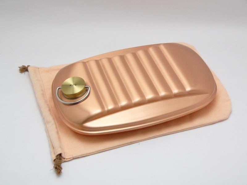 純銅製 湯たんぽ 2.3L S-9395L  エコな暖房 ゆたんぽ あったかい 冷え性 足元 足元暖か 冷え性対策