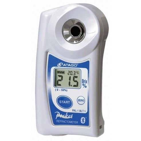 ■送料無料■携帯型デジタル糖度計 パル PAL-1 BLT/i Bluetooth搭載 iPhone用果汁・スープ・ソース及び低糖のジャムなどに!わずか2~3滴で測れるポケット糖度計!アタゴ
