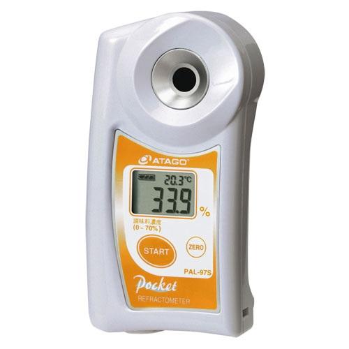 ■送料無料■ポケット調味料濃度計(キッチン濃度計) PAL-97S パル 醤油、ソース、ケチャップ、たれなど、さまざまな調味料の濃度測定が可能!わずか2~3滴で測れるポケット濃度計!アタゴ