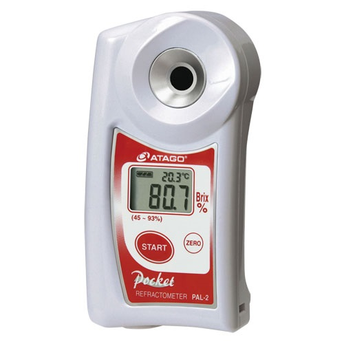 ■送料無料■携帯型デジタル糖度計 パル PAL-2 ジャム・マーマレード・ゼリー・はちみつ・液糖・濃縮果汁などに!わずか2~3滴で測れるポケット糖度計!アタゴ