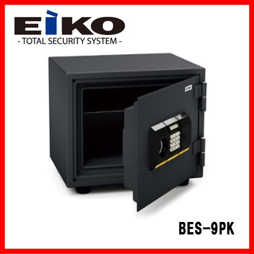 【メーカー直送の為代引き不可】■送料無料■エーコー 家庭用耐火金庫 BES-9PK 一般紙用30分耐火試験合格 小型金庫 EIKO