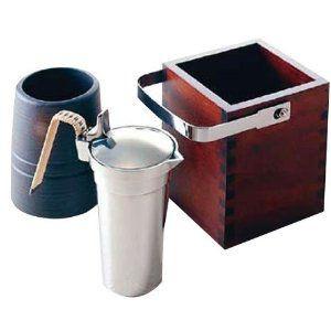 卓上酒燗器 ミニかんすけ 熱燗を楽しむ酒器 電気を使わないエコな熱燗器