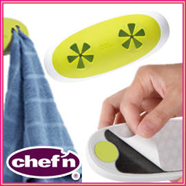 and paste the chef'n shefunn Towel Jam Double Towel Hanger double CF-0293 walls, use the hanger she fine