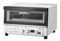 ■送料無料■断熱Wガラスと熱風コンベクションで熱を閉じ込め加熱、まほうびんメーカーならではのコンベンションオーブントースター タイガー コンベクションオーブントースター <やきたて> KAT-A130WM マットホワイト