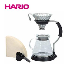 ■送料無料■大人気! HARIO ハリオ V60 アームスタンドセット VAS-8006-HSV VAS8006HSV ドリップスタンド ハンドドリップ ステンレス コーヒーケトル 珈琲王コーヒーメーカー 父の日