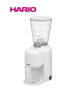 HARIO ハリオ V60 電動コーヒーグラインダーコンパクト ホワイト EVC-8W コーヒーミル