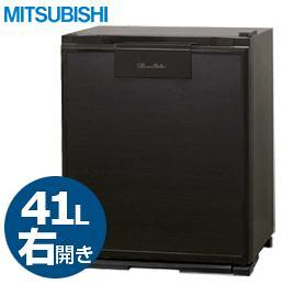 ■送料無料■MITSUBISHI 41L業務用電子冷蔵庫 RD-40B-K 右開き 木目調 グランペルチェ 業務用冷蔵庫/RD40BK/三菱電機
