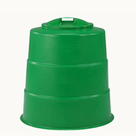 代引き不可■送料無料■ 家庭用生ゴミ処理機 コンポスター300型 三甲ゴミ処理容器/堆肥/ごみ箱/肥料/畑生ごみ サンコー