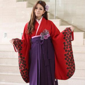 【レンタル】卒業式 袴 レンタルセット 女[往復送料0円]卒業式 2尺袖着物&袴 フルセットレンタル