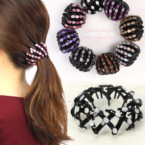 Nadesiko Kirakirabijewhea Ring How To Use Hair Accessories Ponytail