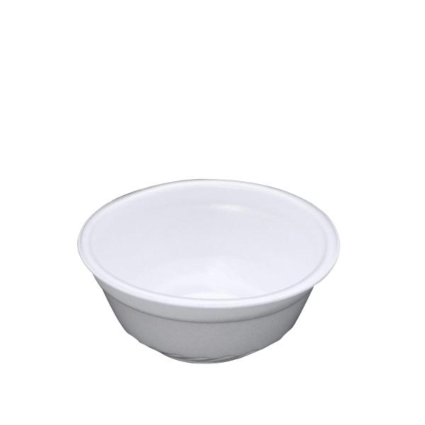 使い捨てどんぶり 特小 RP丼 白 本体 直径12.1cm×高さ5.4cm 1,000枚 - リスパック