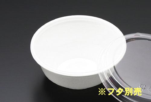 使い捨てどんぶり 小 RP丼 白 本体 直径15.3cm×高さ6.3cm 900枚 - リスパック