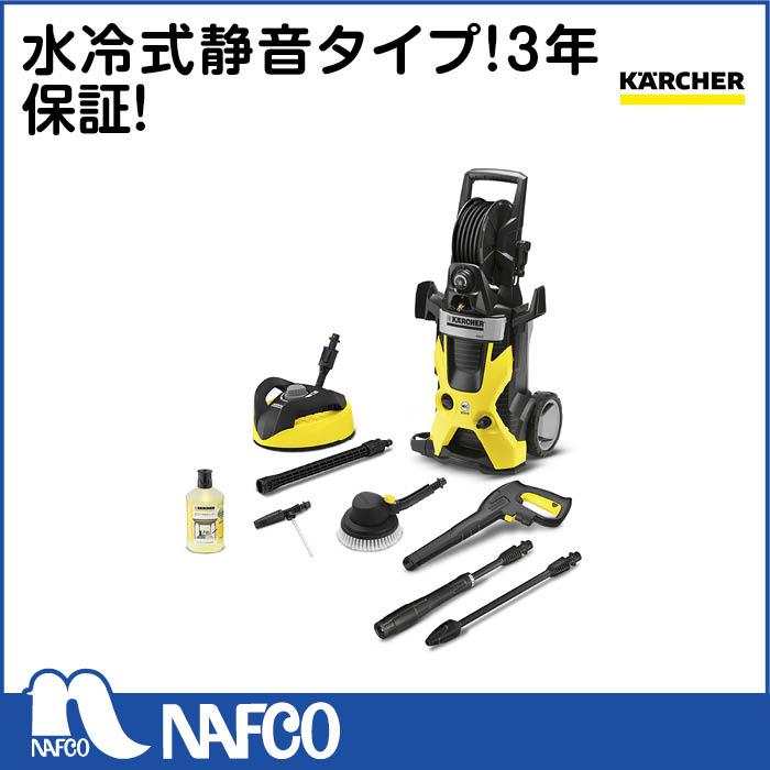 ケルヒャー静音高圧洗浄機K5サイレントカー&ホームキット50Hz 1.601-9.420
