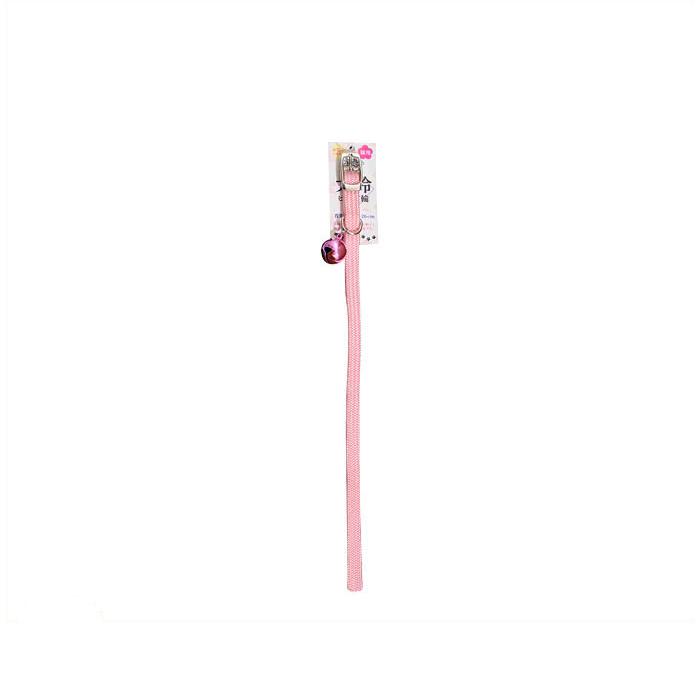 返品交換不可 特別セール品 首周り:16~26cm ターキーNMビッグベルピン猫首輪BBPC-10.NM ピンク
