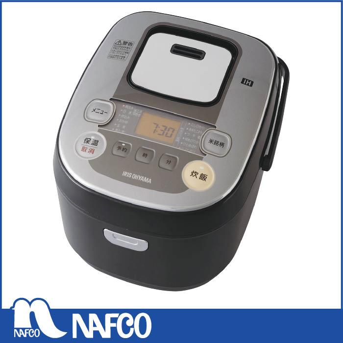 アイリスオーヤマ 銘柄量り炊き IHジャー炊飯器 5.5合 RC‐IB50‐B