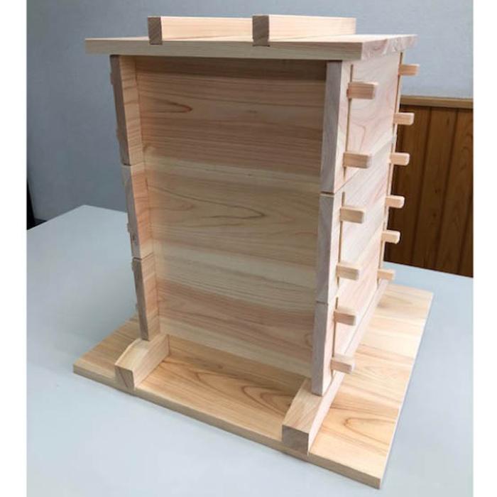 木製セイロ3段セット 27cm角 3段セット