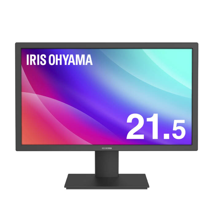 アイリスオーヤマ 液晶ディスプレイ 21.5インチ ILD-A21FHD-B