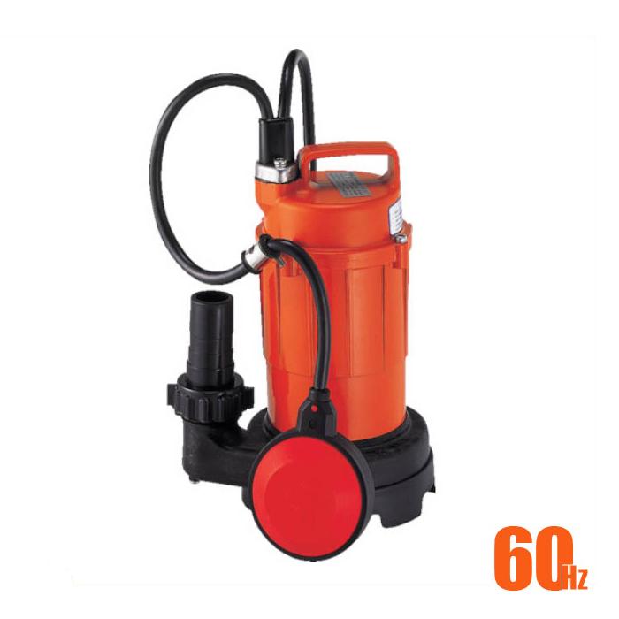 寺田 小型汚水用水中ポンプ 自動 60Hz