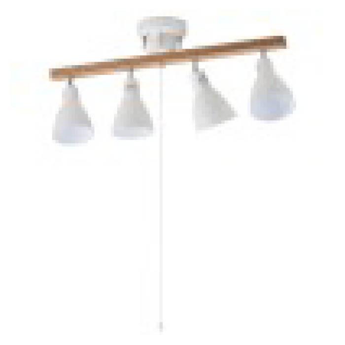 4灯シーリング LED球付 白 LT-YY30AW-W