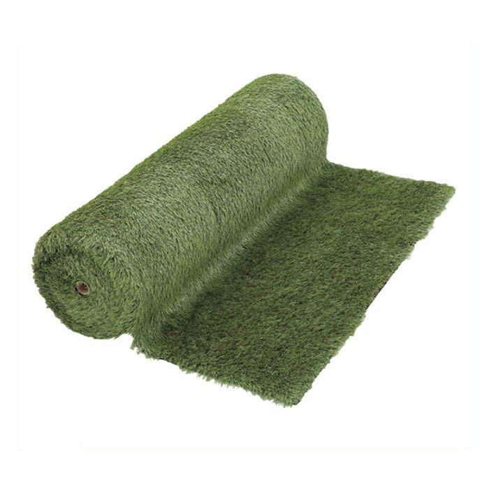 丈夫で長持ちする強力リアル人工芝 1m×10m 20ミリ