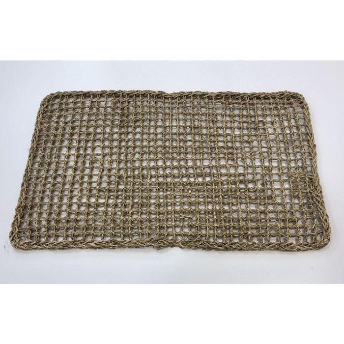 <title>環境にやさしい天然素材 一枚一枚手作りのベトナム製マットです ナフコ 値引き 水草マット 約44×75</title>