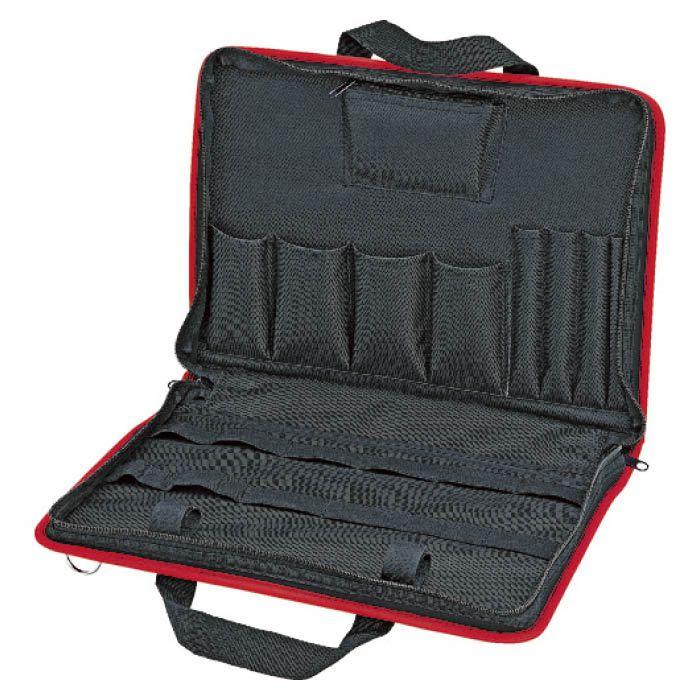 コンパクト かつスリムなブリーフタイプのツールバッグです 樹脂ツールケース002140LEや002141LEと組み合わせても使用可能です 爆安 T 4966457 無料サンプルOK ツールバッグ KNIPEX