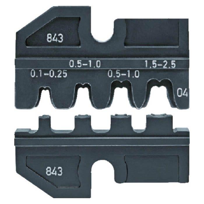 (T)KNIPEX 9749-14 圧着ダイス (9743-200用) 7738340