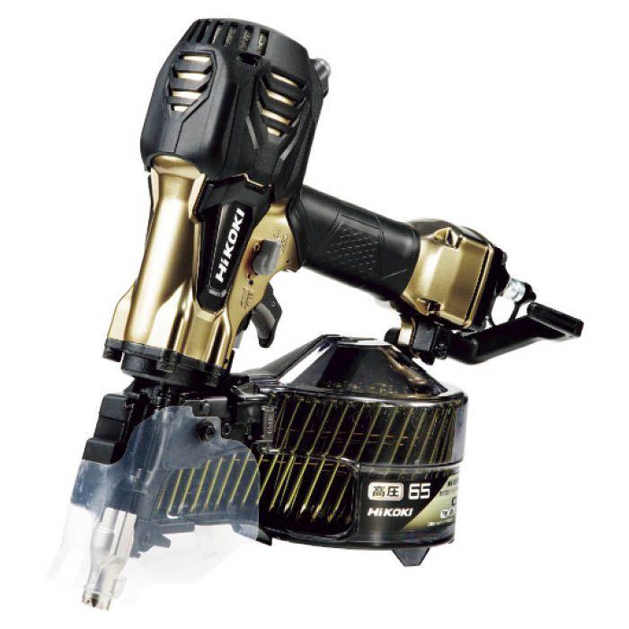 (T)HiKOKI 高圧ロール釘打機65mmハイゴールド 1588666