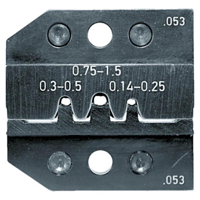 (T)RENNSTEIG 圧着ダイス 624-053 ピンコンタクト0.14-1.5 7665229