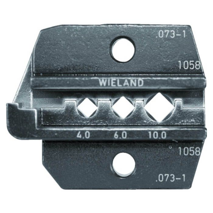 (T)RENNSTEIG 圧着ダイス 624-073-1 Wieland 4.0-10 7665300