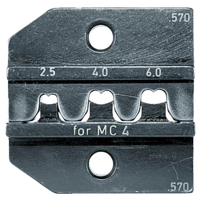 (T)RENNSTEIG 圧着ダイス 624-570 MC4 2.5-6.0 7665415