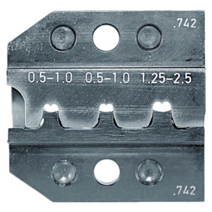 (T)RENNSTEIG 圧着ダイス 624-742 オープンバレル接続端子 0.5- 7665458