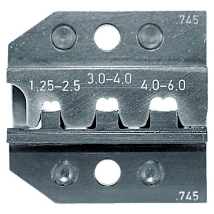 (T)RENNSTEIG 圧着ダイス 624-745 オープンバレル接続端子 1.25 7665466