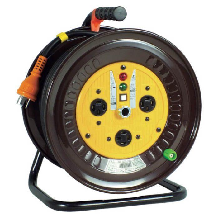 (T)日動 電工ドラム 三相200Vドラム アース付 20m 1255819