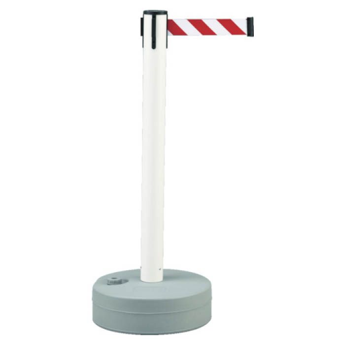 (T)緑十字 バリアースタンド(スタート+キャッチ) ポール:白 ベルト:白/赤 368011