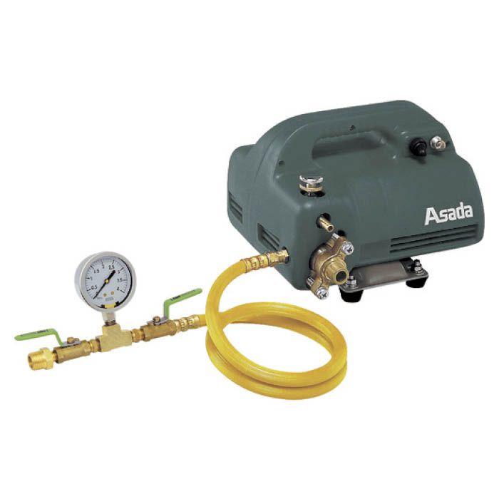 水道直結とタンク自吸の両方で使用可能です 振動にも針が安定し 見やすいグリセリン入り圧力計です T 電動テストポンプEP440 贈り物 EP470 セール アサダ