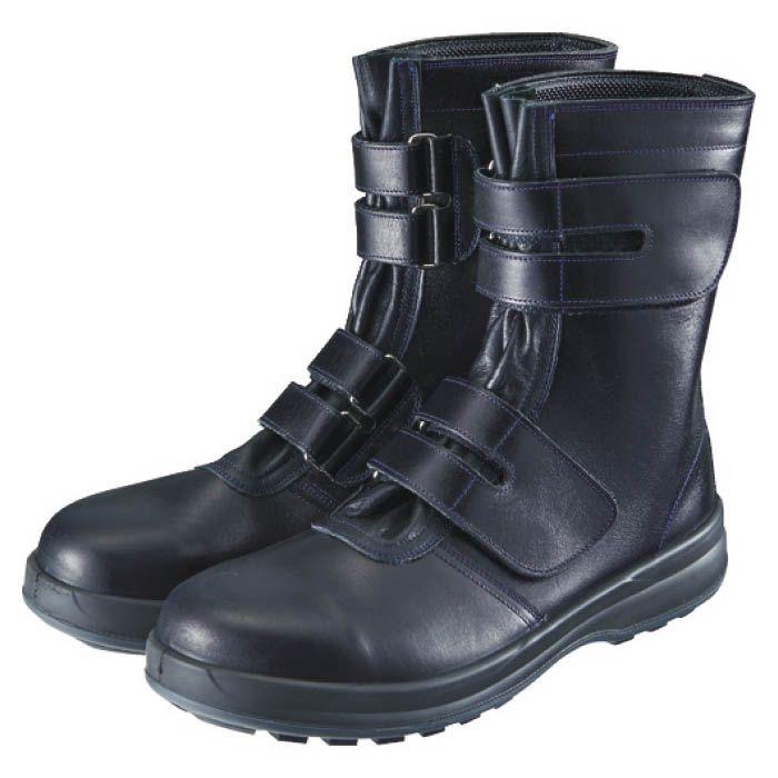 (T)シモン 安全靴 マジック式 8538黒