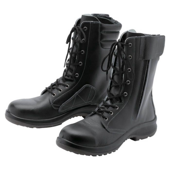 (T)ミドリ安全 女性用長編上安全靴 LPM230Fオールハトメ