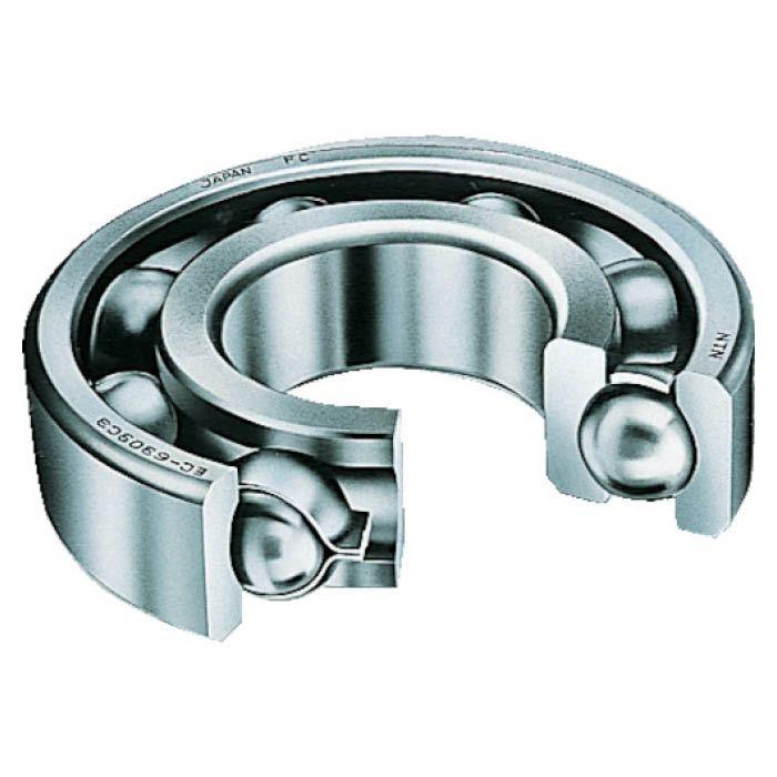 内輪 外輪とも軌道は円弧状の深い溝となっており セール価格 ラジアル荷重 両方向のアキシアル荷重または合成荷重を受けることができます 普通隙間より大きいタイプです T 高い素材 6224C3 すきま大タイプ H大形ベアリング 内輪径120mm外輪径215mm幅40mm NTN