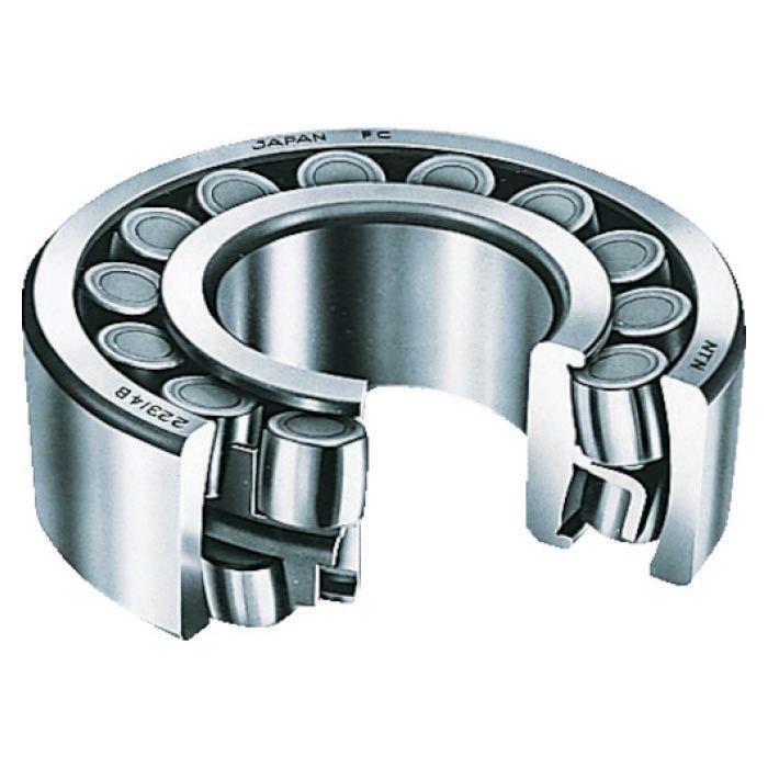 ラジアル荷重 両方向のアキシアル荷重及びこれらの合成荷重を負荷する能力が大きくなっています 発売モデル 外輪軌道面の中心が軸受中心に一致しているので 自動調心性があります T 販売実績No.1 23130EAKD1 NTN テーパ穴 自動調心ころ軸受 内輪径150mm外輪径250mm幅80mm