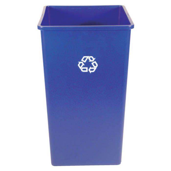 <title>洗練されたデザインのゴミ箱です 屋内 バースデー 記念日 ギフト 贈物 お勧め 通販 屋外の厳しい条件下でも優れた耐久性を発揮します T ラバーメイド アンタッチャブルスクエアコンテナ 189.3L ブルー 39597365</title>