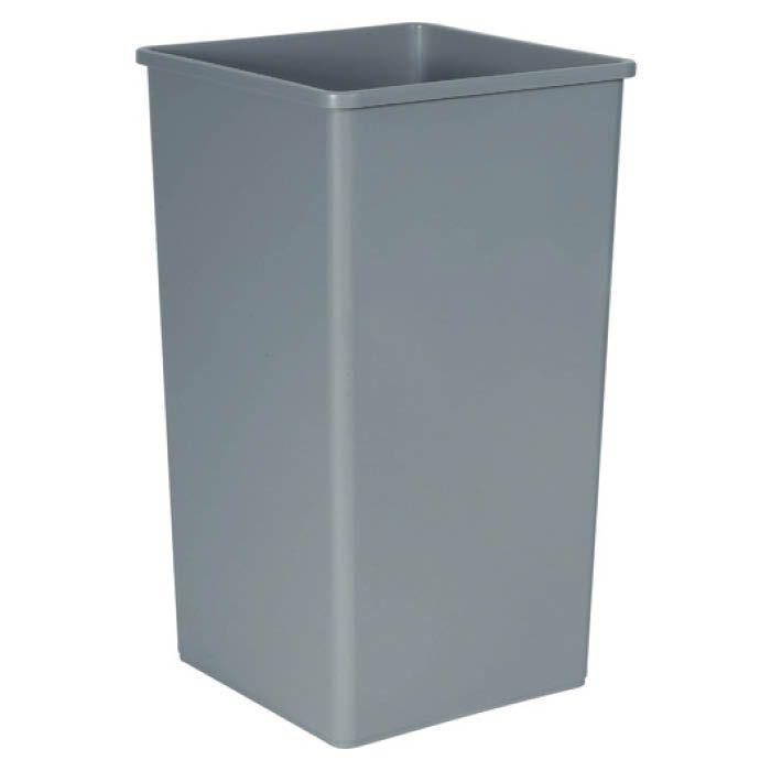 <title>洗練されたデザインのゴミ箱です 屋内 屋外の厳しい条件下でも優れた耐久性を発揮します T ラバーメイド アンタッチャブルスクエアコンテナ 189.3L グレイ 『1年保証』 395975</title>